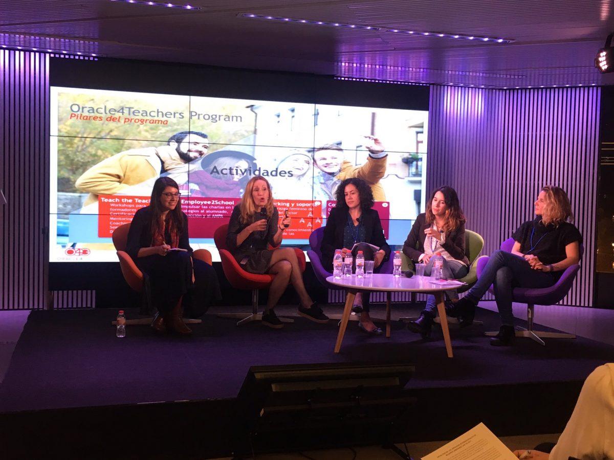"""""""Retos de la educación y el talento de las mujeres en el sector digital"""" – WomenliderTic 2018"""